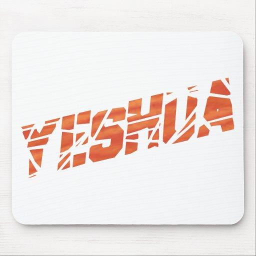 Yeshua cassé Orange Mouse Pads