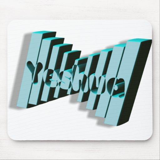 Yeshua Domino Bleu 3D Mouse Pad