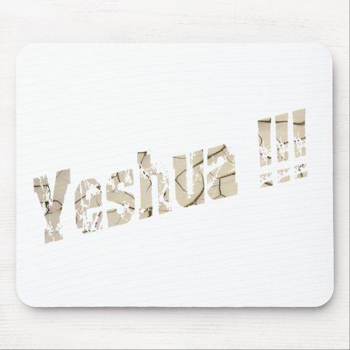 Yeshua Effet terre sèche Mousepad