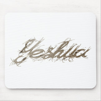 Yeshua Elfont Papier. Mouse Pad