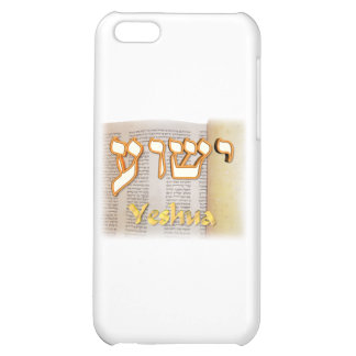 Yeshua in Hebrew iPhone 5C Covers