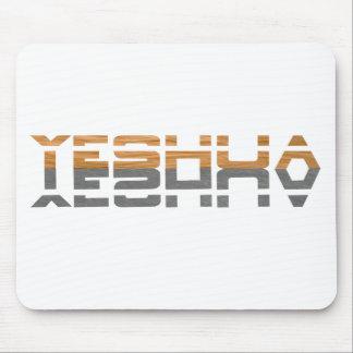 Yeshua Reflet terre Gris Tapis De Souris