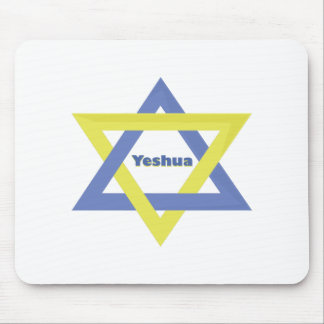 Yeshua Star Mouse Pads