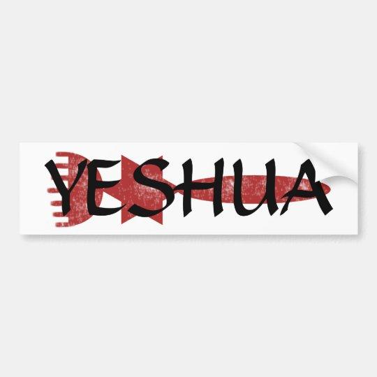 Yeshua sticker bumper sticker