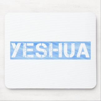 Yeshua tampon bleu Clair Mousepads