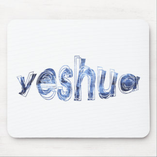 Yeshua Vibration Bleu Mouse Pads