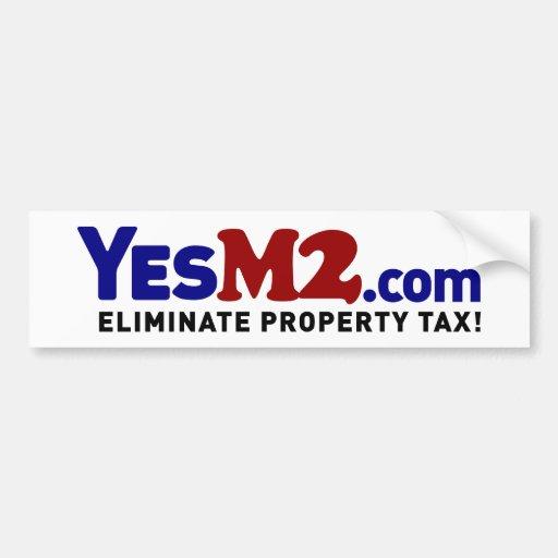YesM2.com Bumper Sticker