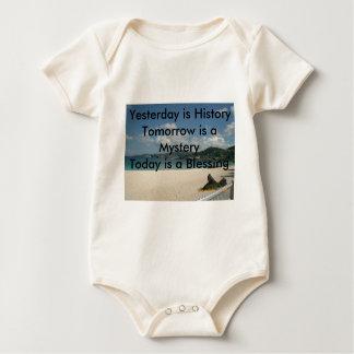 Yesterday is History Baby Bodysuit