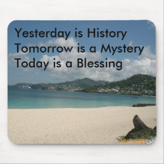 Yesterday is History Mouse Mat