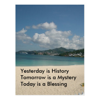 Yesterday is History Postcards