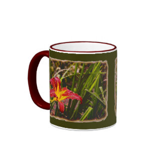 Yesterday Lily After The Rain Ringer Mug