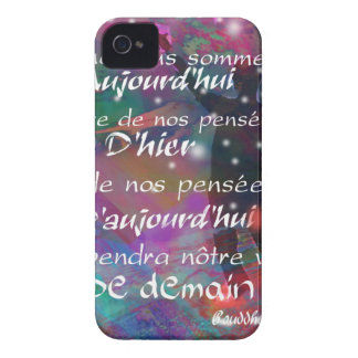 Yesterday, today and future are always in our mind iPhone 4 Case-Mate cases