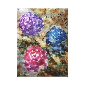 Yesteryear Roses Canvas Print