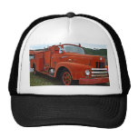 Yesteryears Old Red Firetruck Hat Cap