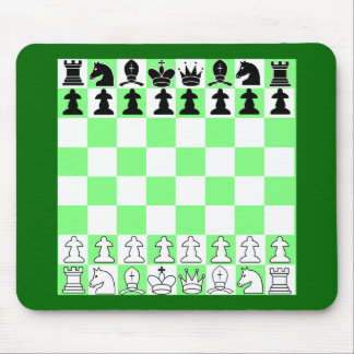 Yet another game of chess mouse mat