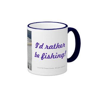 "Yet Another ""I'd rather be..."" Somewhere Else Mug"