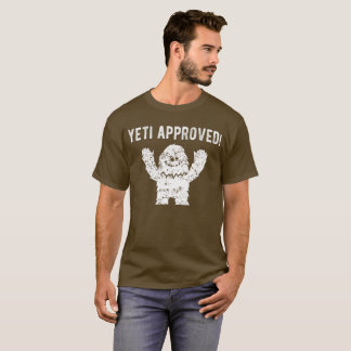 Yeti Approved Funny Bigfoot T-Shirt