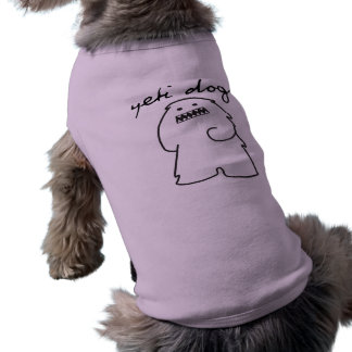 Yeti Dogs Pet T-shirt (Dark Logo)