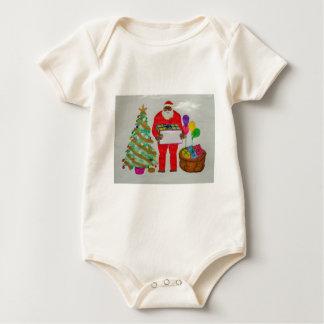 Yeti father chrismas,.JPG Baby Bodysuit