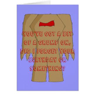 Yeti Greeting Card