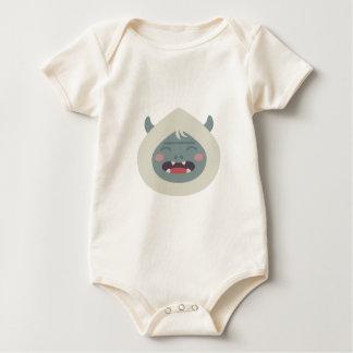 Yeti Head Baby Bodysuit