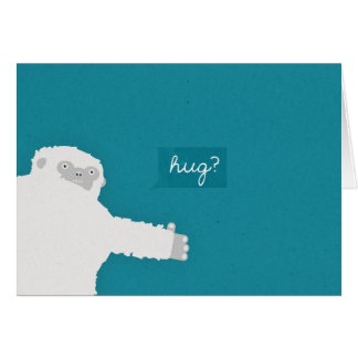 Yeti Hug Card