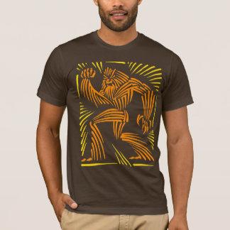 Yeti Woodcut Graphic T-Shirt