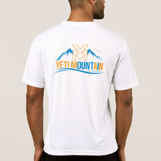 YetiMen Colorado 2017 Fit Color on White T-Shirt