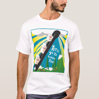 Yetis Go To Heaven Too! T-Shirt