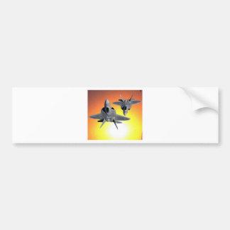 YF-22's IN FLIGHT Bumper Sticker