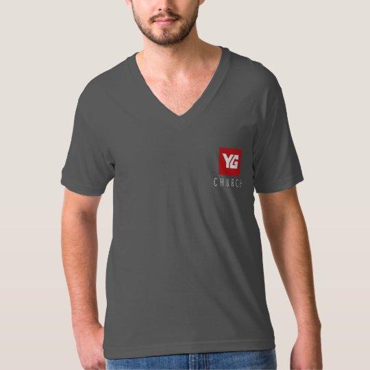 YG Church Men's V-neck Shirt