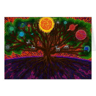 Yggdrasil Greeting Card