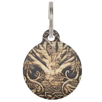 Yggdrasil - Tree of Life - Pet Tag - Large