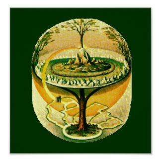 Yggdrasil Tree Of Life Posters