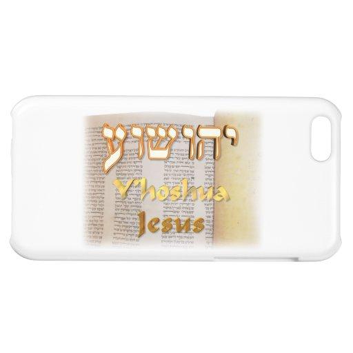 Y'hoshua, Jesus' name in Hebrew iPhone 5C Cover