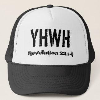 YHWH, Revelation 22 : 4 Trucker Hat