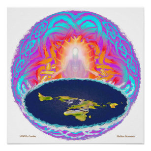 YHWH's Creation ~ painting by Hidden Mountain Poster