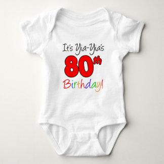 Yia-Yia's 80th Birthday Tee Shirt