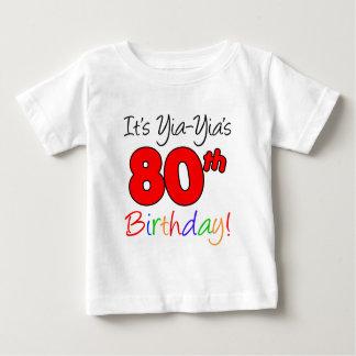 Yia-Yia's 80th Birthday T-shirt