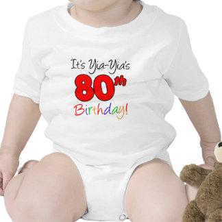 Yia-Yia's 80th Birthday Romper