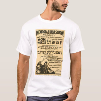 Yiddish Folk Comedy 1938 WPA T-Shirt