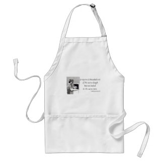 Yiddish Proverb about Baked Bread Apron