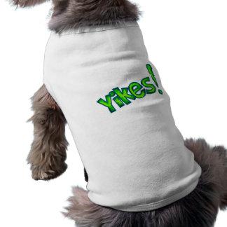 Yikes Comic Hunde T Shirt