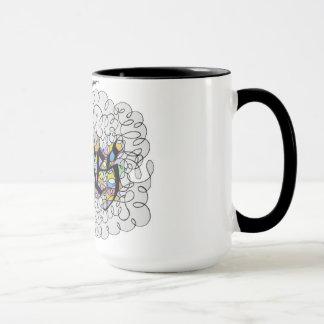 """Yikes"" Say it with a flourish mug"