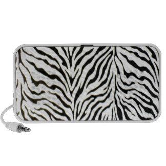 Yikes Stripes Zebra Laptop Speaker