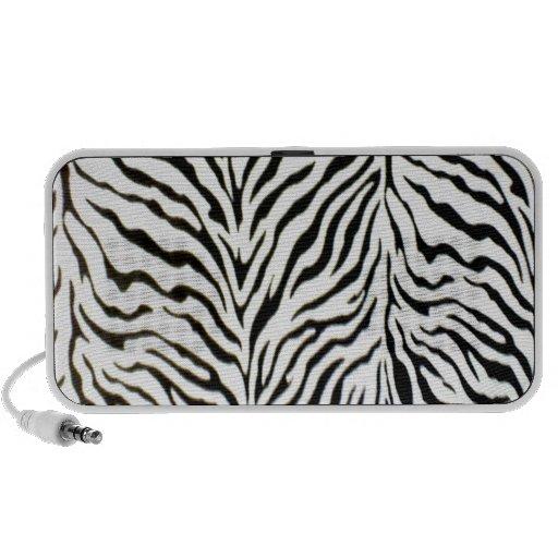 Yikes Stripes Zebra Travel Speaker
