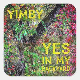 YIMBY SQUARE STICKER