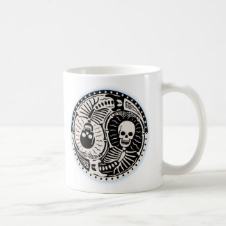 Yin and Bones Basic White Mug