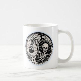 Yin and Bones Basic White Mug