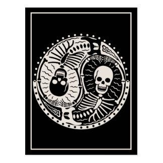 Yin and Bones Postcard